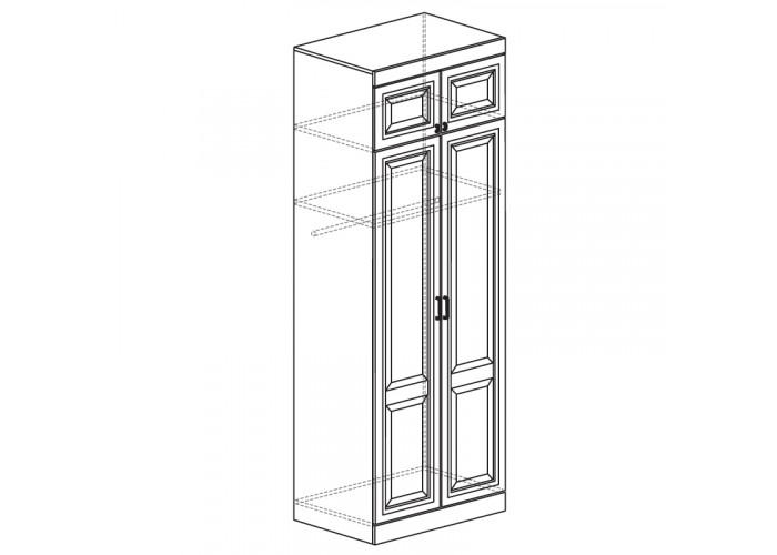 Модуль №340 Шкаф для одежды 2-дверный Диана