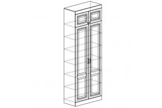 Модуль №344 Шкаф для книг Диана