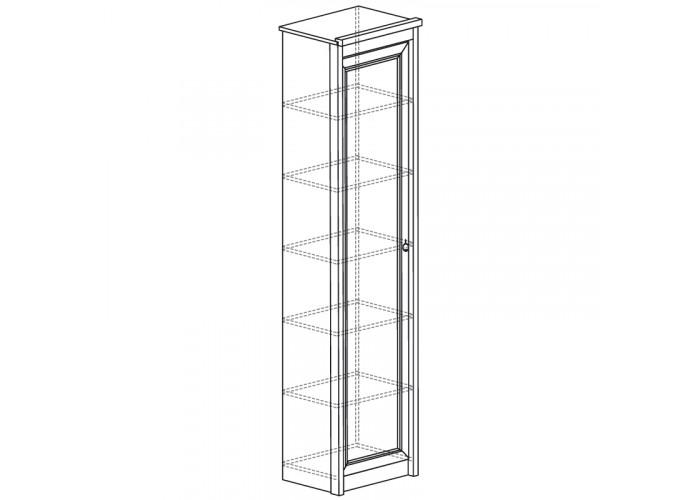 Модуль №642 Шкаф для одежды однодверный Флоренция