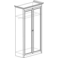 Модуль №661 Шкаф для одежды 2-дверный Флоренция
