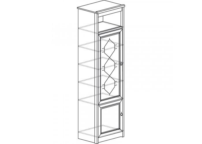 Модуль №665 Шкаф для посуды Флоренция
