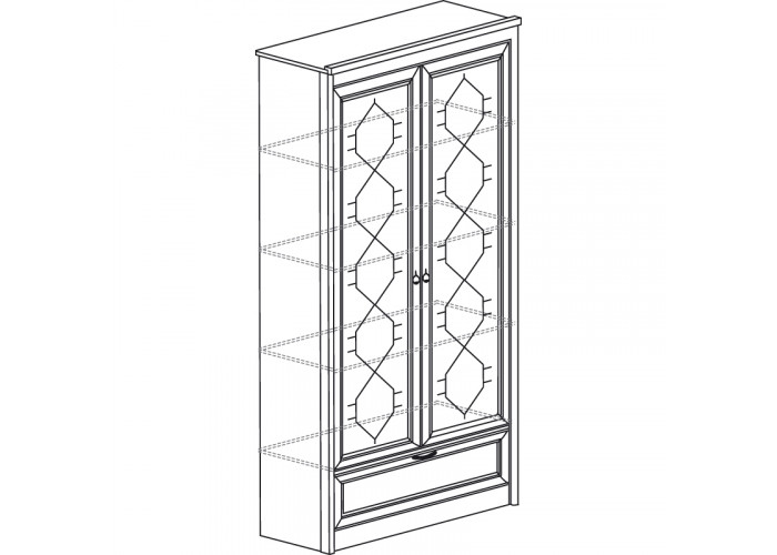 Модуль №667 Шкаф для книг Флоренция