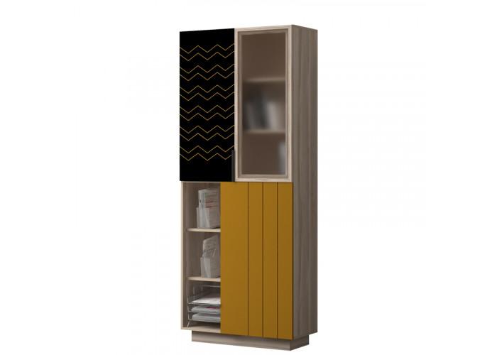 Модуль №781 Шкаф для книг Граффити
