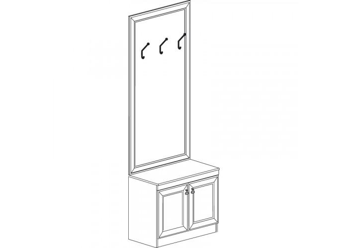 Модуль №620 Шкаф Инна