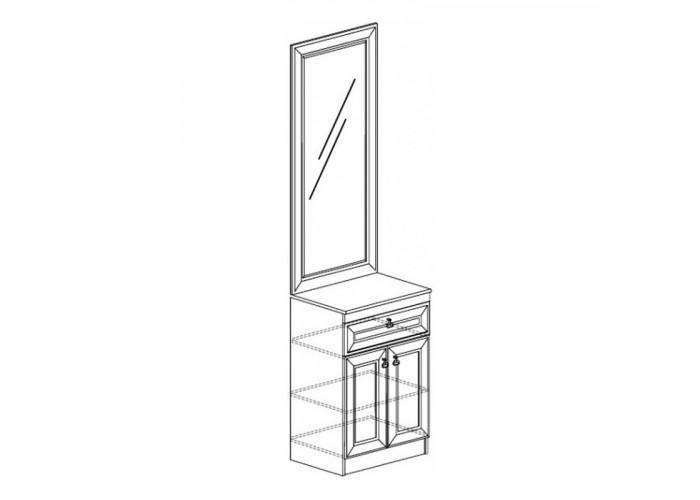 Модуль №622 Тумба с зеркалом Инна