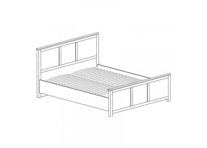 Модуль №633 Кровать двойная 1400 Инна