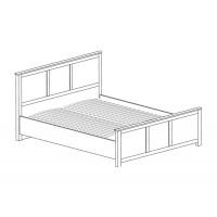 Модуль №634 Кровать двойная 1600 Инна