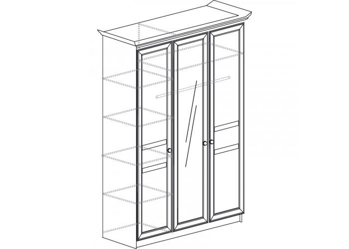 Модуль №625 Шкаф 3-дверный Инна
