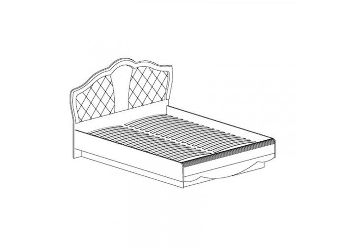 Модуль №687 Кровать двойная 1800 Каролина