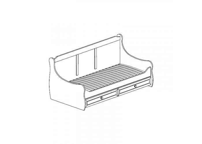 Модуль №544 Кровать с ящиками Леон