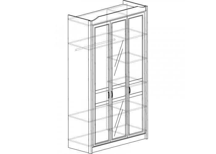 Модуль №530 Шкаф 3-дверный Леон