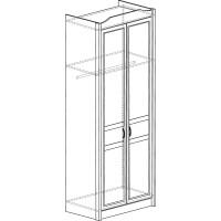 Модуль №531 Шкаф 2-дверный Леон
