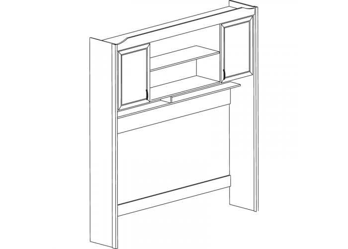 Модуль №535 Надставка кровати Леон