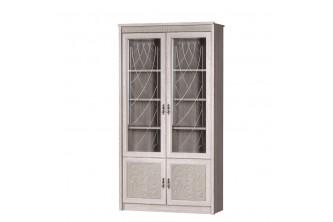 Модуль №184 Шкаф для книг Лючия дуб оксфорд серый