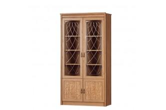 Модуль №184 Шкаф для книг Лючия дуб ридинг