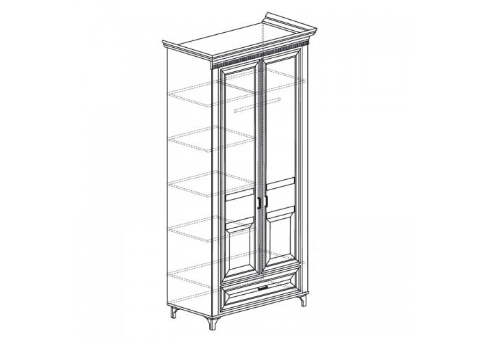 Модуль №471 Шкаф для одежды 2-дверный Марлен