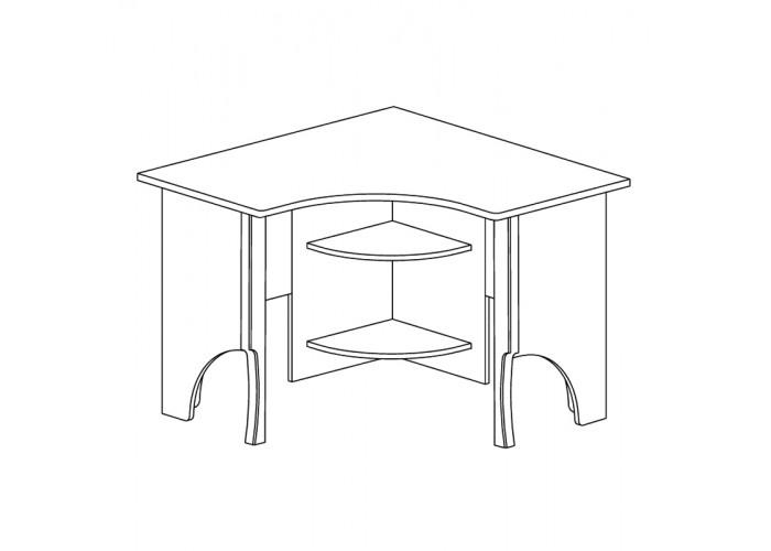 Модуль №858 Стол угловой Ралли