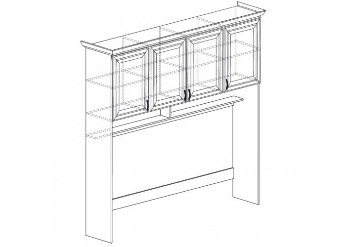 Модуль №864 Надставка кровати Ралли