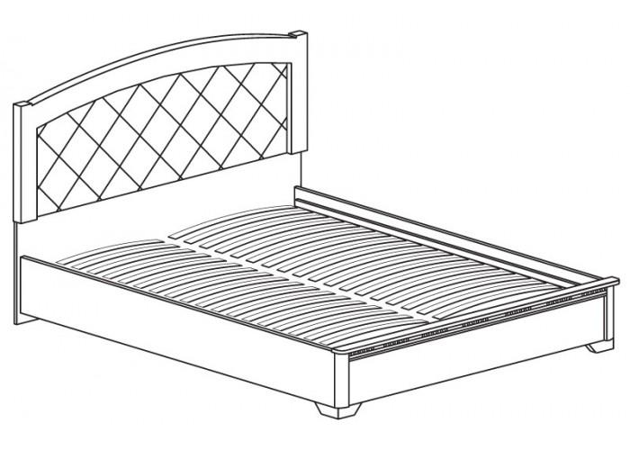 Модуль №815 Кровать 1800 Парма