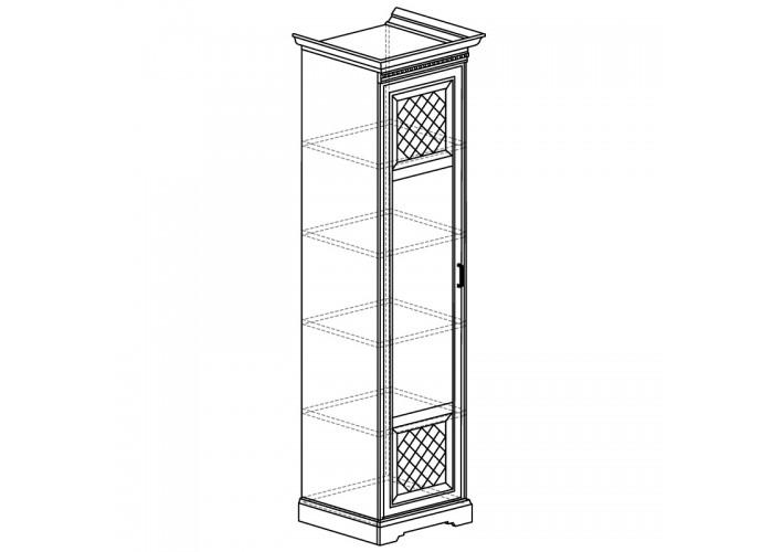 Шкаф для одежды 1-дверный Парма №809
