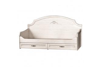 Модуль №415 Кровать 1-спальная с ящиками Прованс