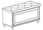 Модуль №866 Банкетка Ралли