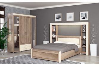 ЙО-41.0-КР Кровать двойная на 1600 Йорк